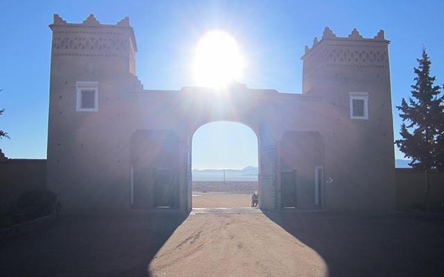 Le Maroc en moto désert