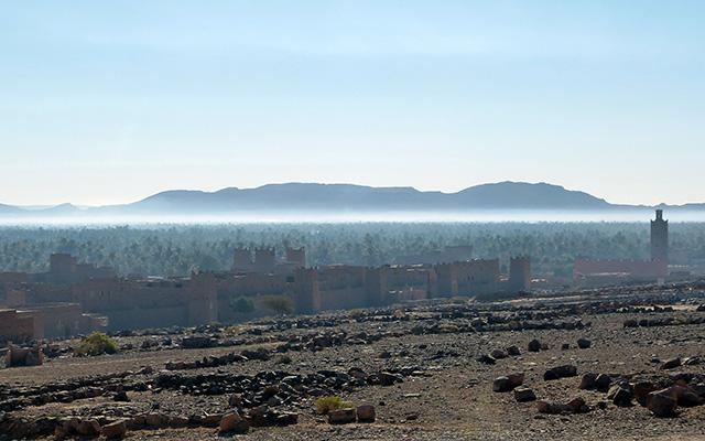 Riad circuit moto Maroc