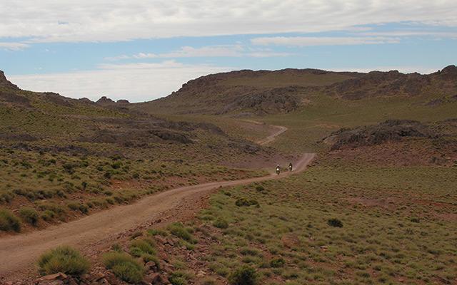 Circuit désert Maroc piste vertes et ocres