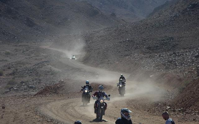Raid moto Maroc pistes en lacets