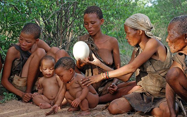 safari namibie bushmens