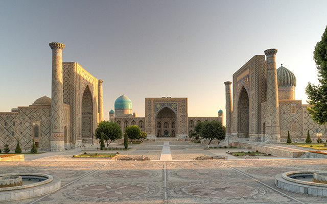 road trip ouzbékistan samarkand