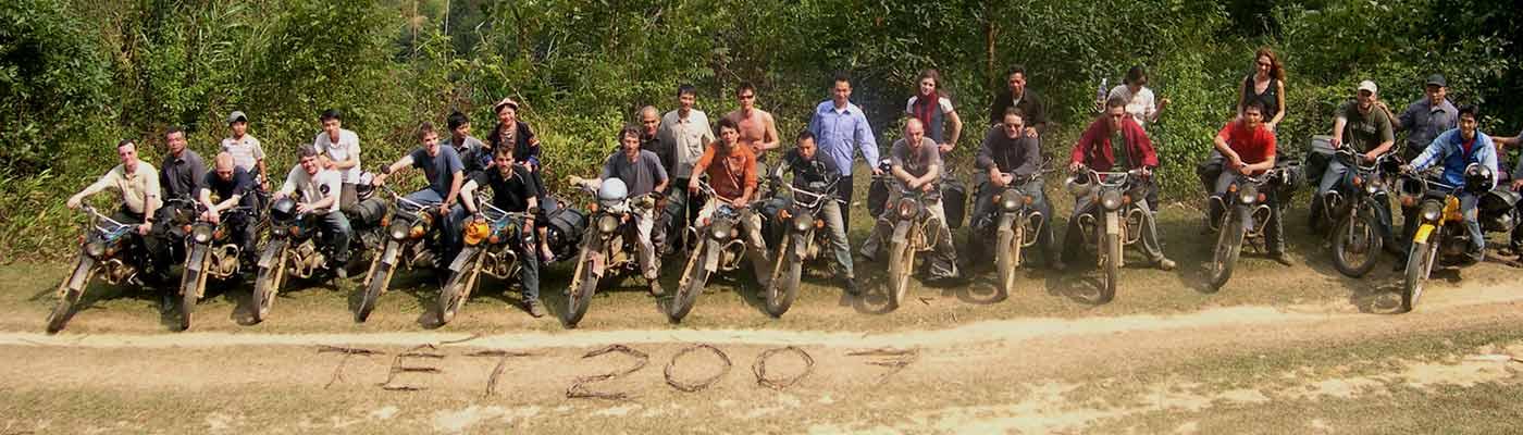 Circuit moto Vietnam TET