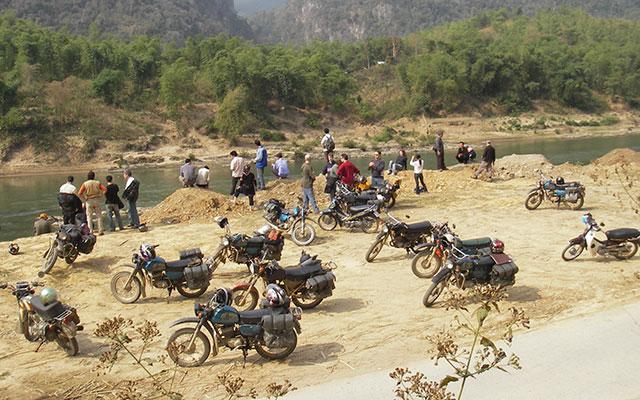 vietnam en moto motards