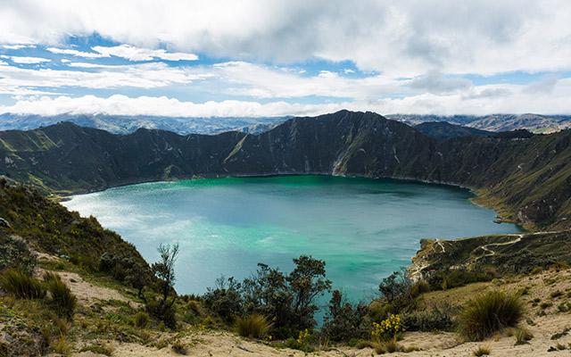 Road trip Equateur eau