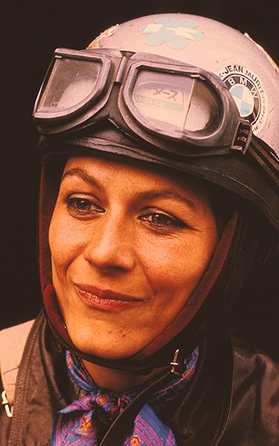 Femme moto Anne-France Dautheville Planet Ride