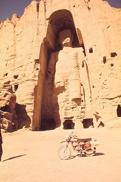 Tour du monde moto Anne-France Dautheville