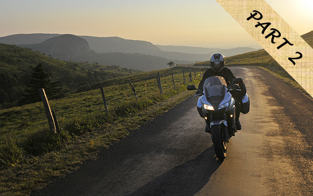 Planet ride Auvergne moto