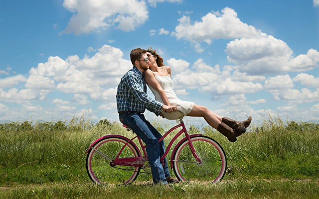 Travelling as a couple bike