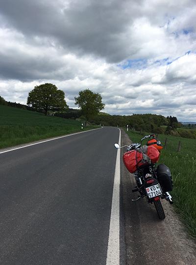 voyage Royal Enfield entre l'Alsace, la Suisse et l'Allemagne