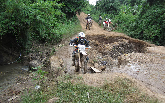 off-road Laos