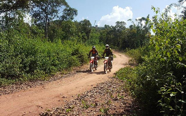 Laos en moto Planet Ride