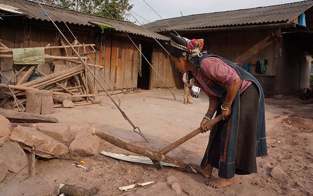 Itinéraire Laos village de montagne