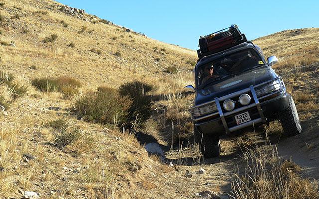 Raid 4x4 Mongolie Planet Ride piste