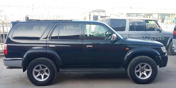 Raid 4x4 Mongolie véhicule