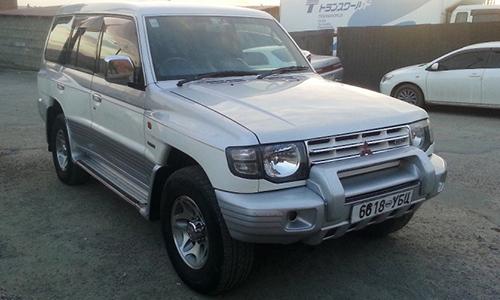 Toyota Pajero Mongolie 4x4