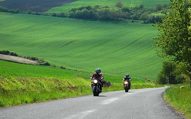 Balade moto Auvergne Planet Ride jour 2