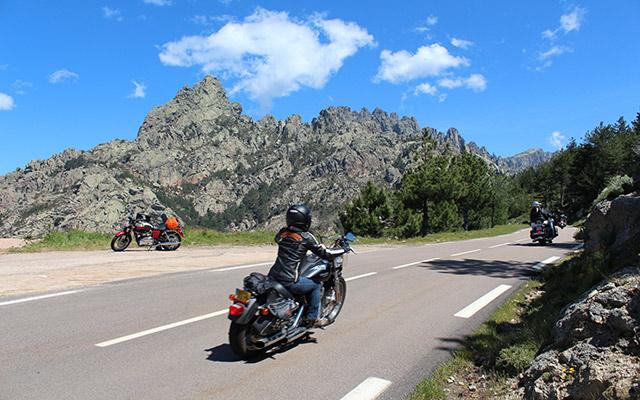 corsica motorcycle rental