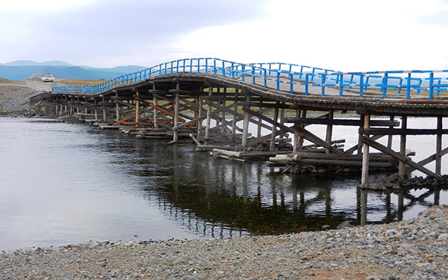 Pont raid 4x4 Mongolie