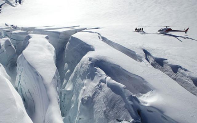 Glaciers Nouvelle Zélande