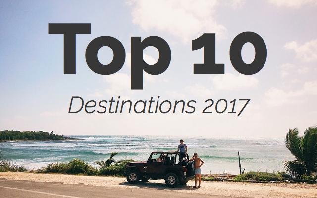 top 10 destinations 2017