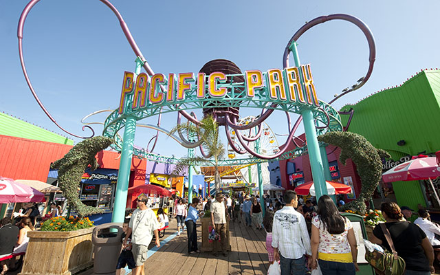 Pacific Park voyage USA