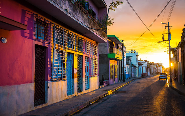 séjour cuba street