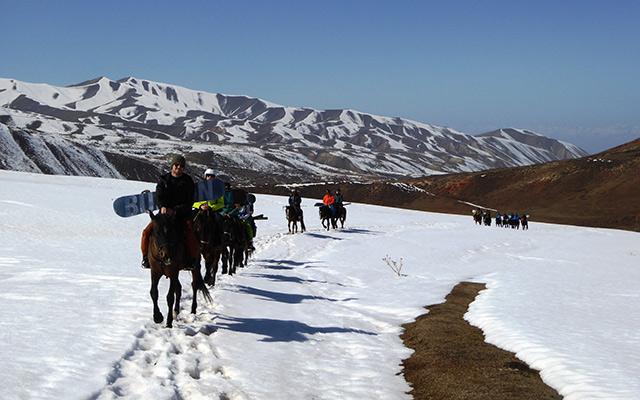 Itinéraire Kirghizistan à cheval