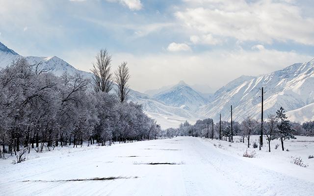 Kirghizistan ski circuit 4x4 Kirghizistan