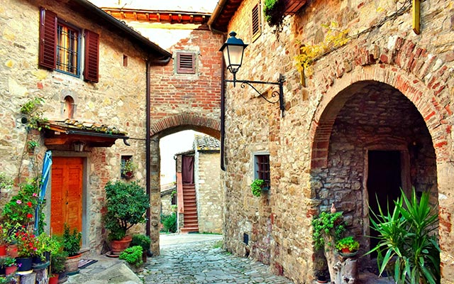Itinéraire Toscane