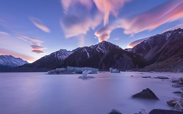 Circuit Nouvelle Zélande sunset