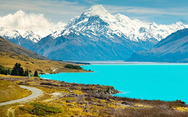 voyage Nouvelle Zélande lac et montagne