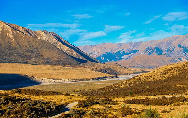 Circuit Nouvelle Zélande vallée