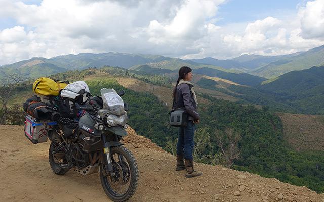 itinéraire moto
