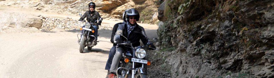 inde en moto