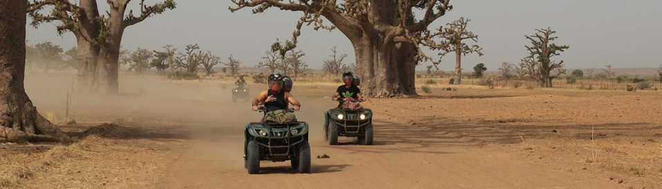 quad au senegal