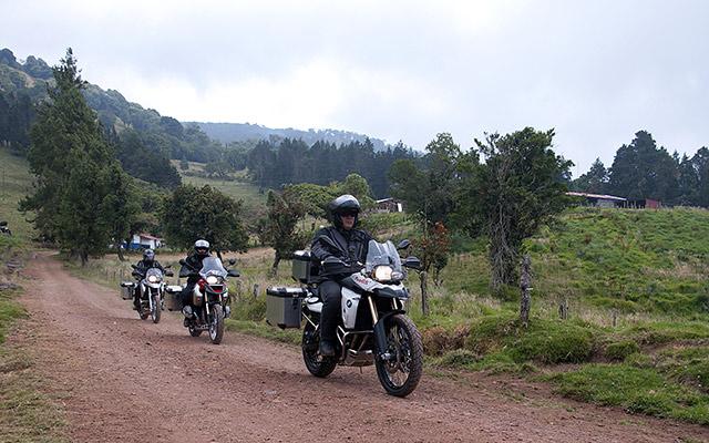 Costa Rica motorcycle adventure