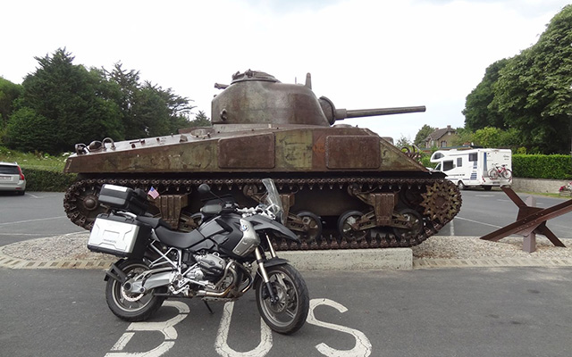 motorcycle touring in France