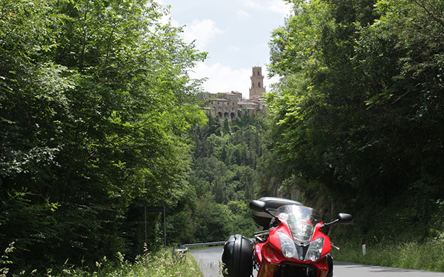 Tuscany motorcycle tour