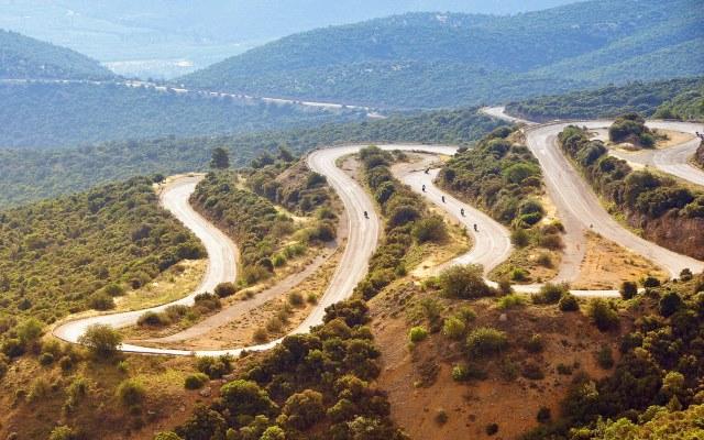 Motorcycling in Greece