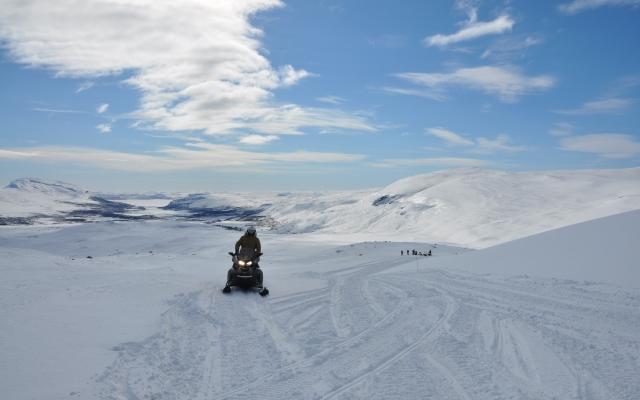 Snowmobile Finland