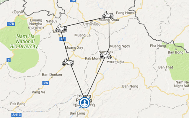 Laos motorbike tours