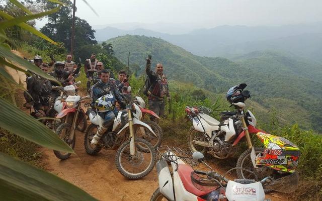 laos motorcyle tour