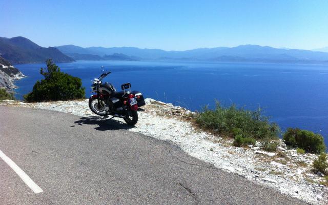 motorcycle tour Corsica
