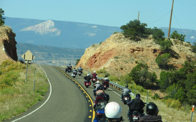 Ouest americain en moto