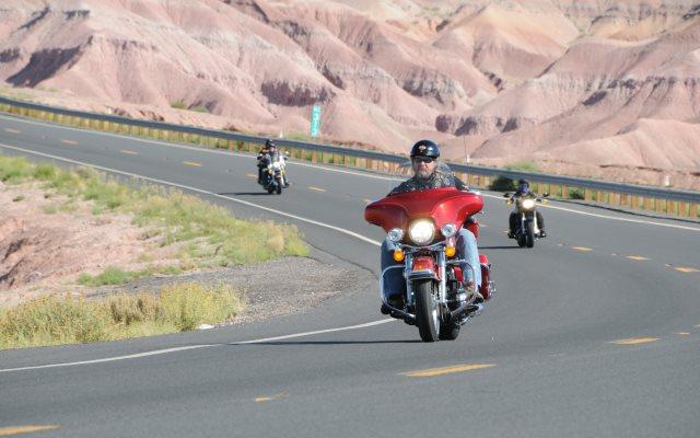 Route 66 en moto