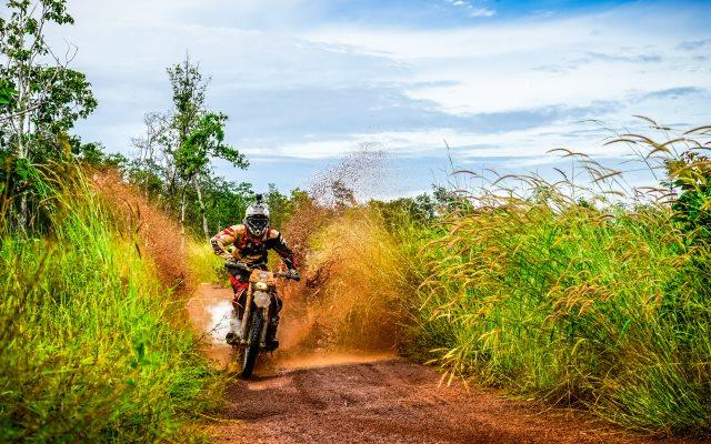 Cambodia motorbike travel
