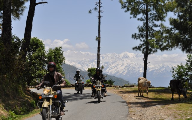 Royal Enfield tours