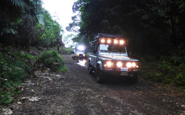 Les voyages with 4x4