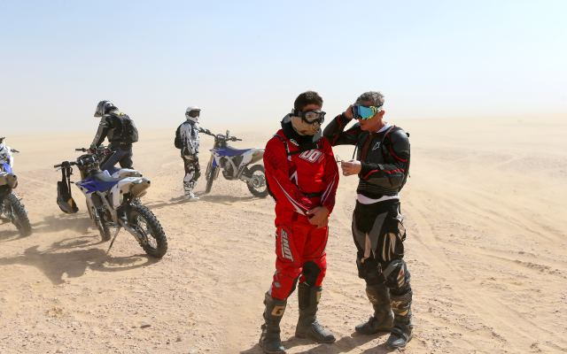 roadtrip moto à oman